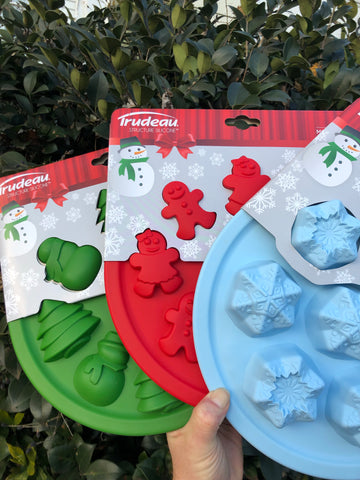 Christmas Silicone Cookie or Cupcake Pan