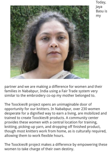 Toockies: Fair Trade Cleaning - Support Women in India