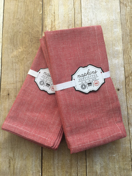Chambray Napkins 4/pk