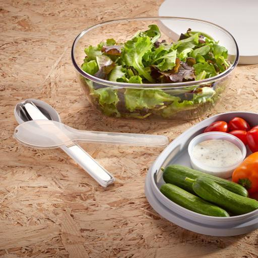 Mepal Salad Box, Bento Box, Lunch Pot - Made in Holland