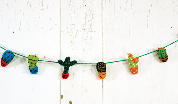 Felt Ornaments and Garland