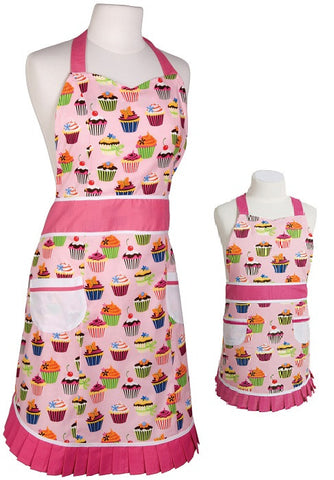Sweet Tooth Adult and Child Apron Set