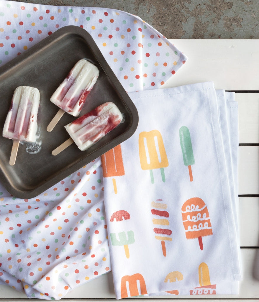 Popsicle Print - Set of 2 Handtowels