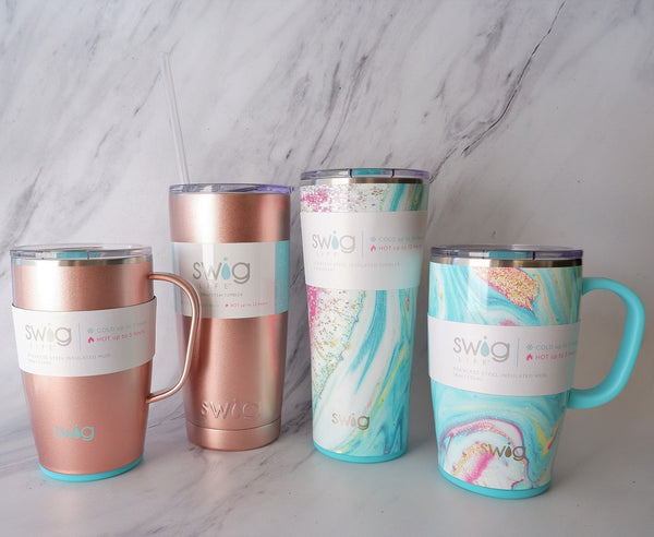 SWIG Life: Insulated Tumblers + Travel Mugs