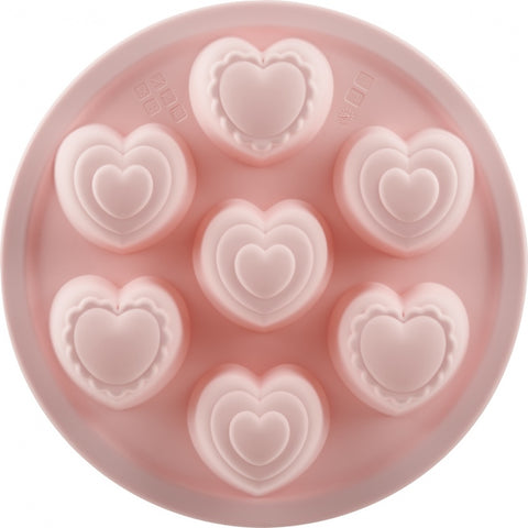Silicone Heart Cake Mold