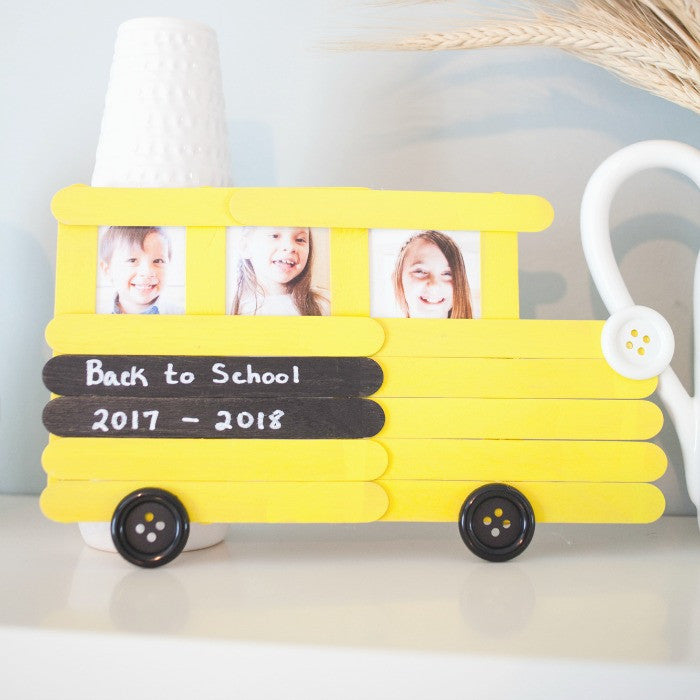 Back to School Bus Frame – Craft Box Girls