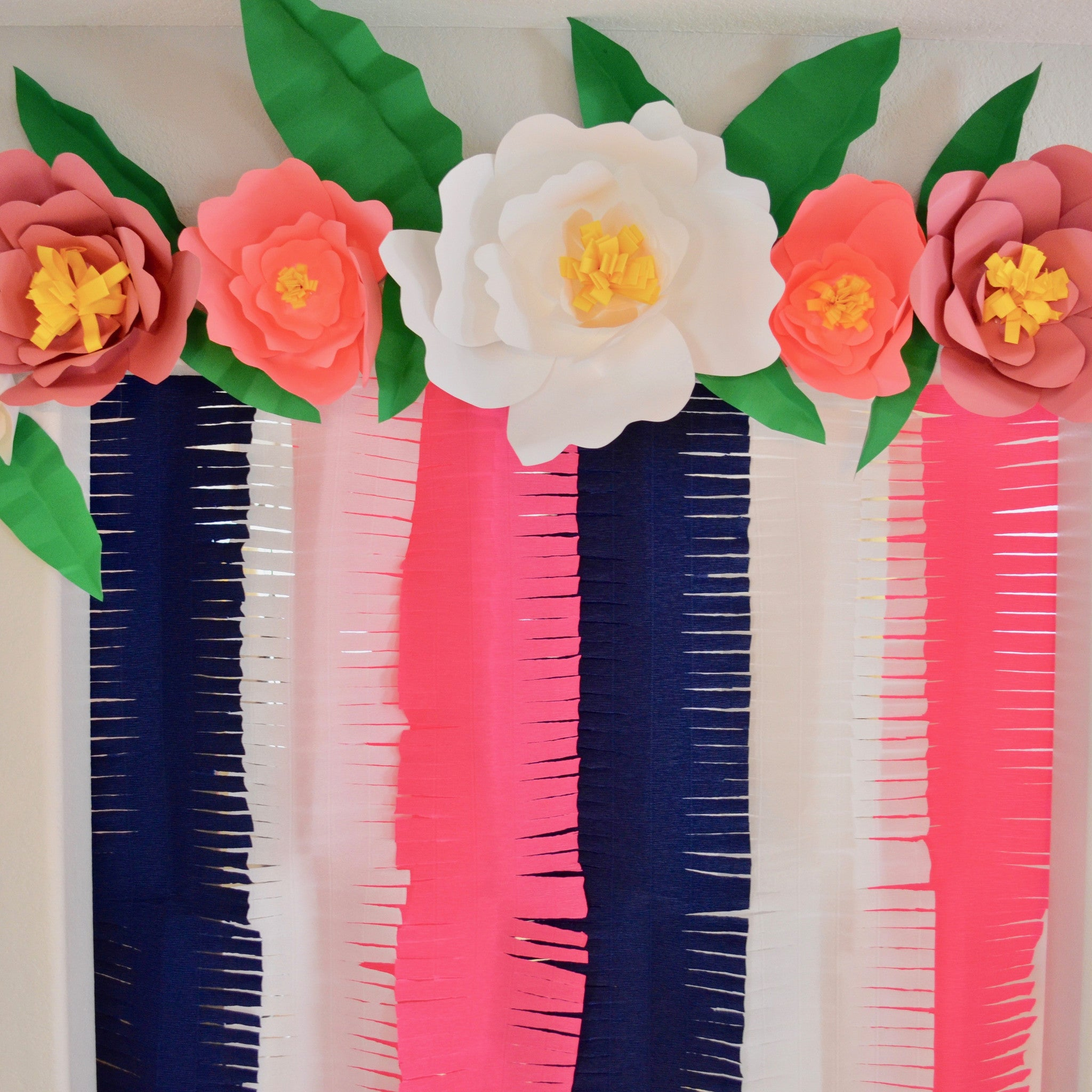 Colorful step by step paper flower making festooning top wedding paper flower making step by step minimfagency mightylinksfo