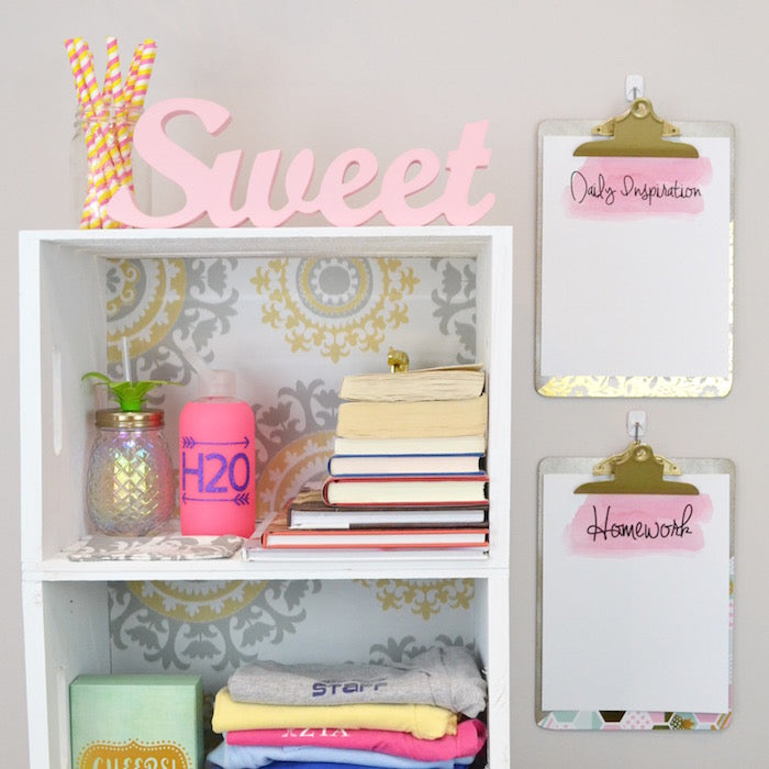 diy dorm room decor craft box girls