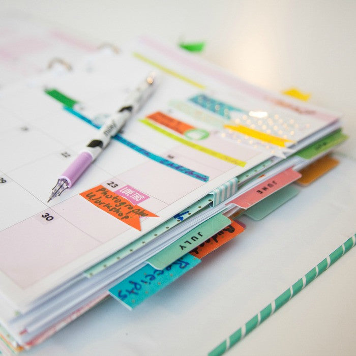 10 Ways to Organize and Decorate Your Planner – Craft Box Girls