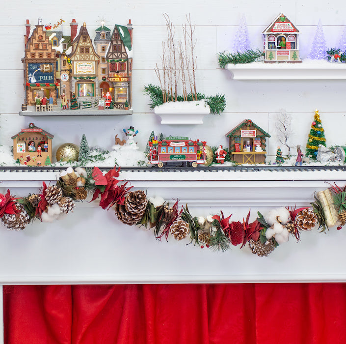 Michaels 2020 Christmas Lemax 3 DIY Holiday Lemax Villages – Craft Box Girls