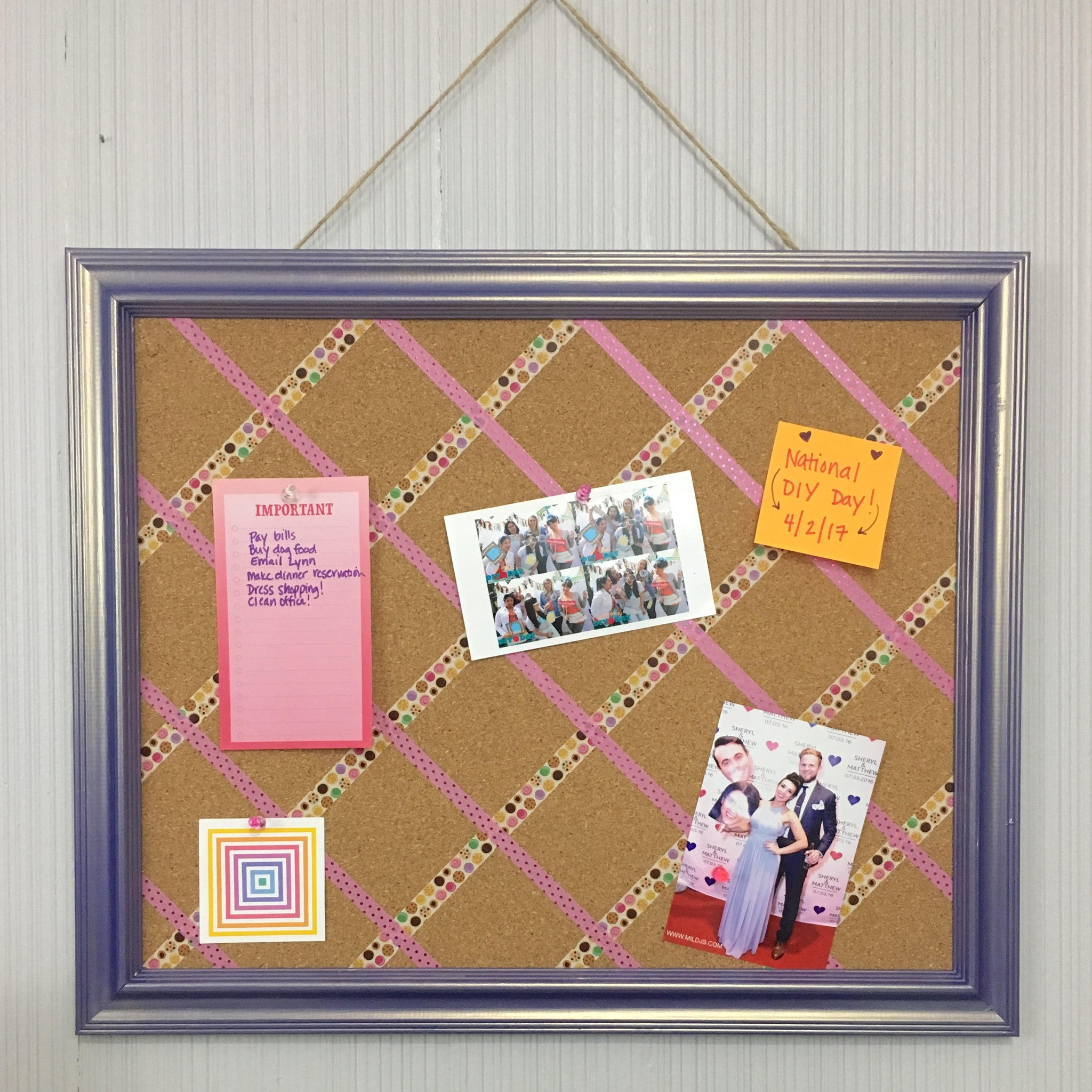Diy Bulletin Board Craft Box Girls