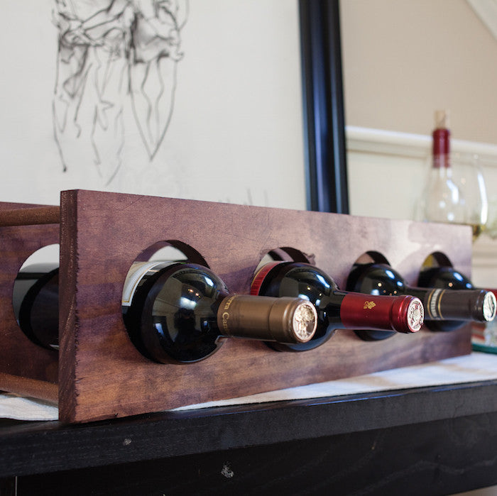 and diy wine innovative racks barn clock ingenious o rack wood
