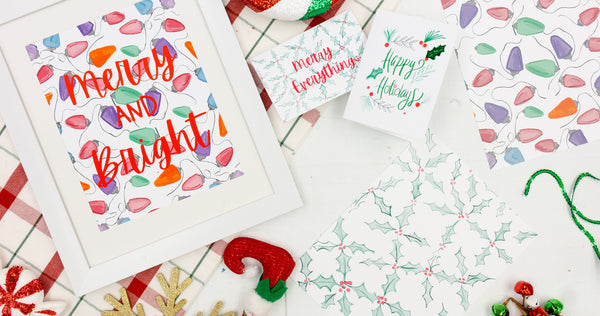 Holiday Stationary Collection