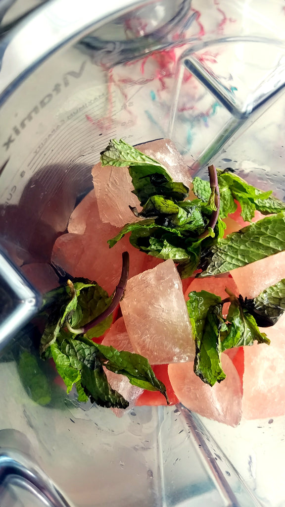 Watermelon mint frose margarita