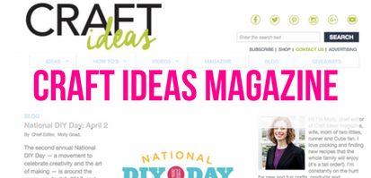 National DIY Day Craft Ideas Magazine
