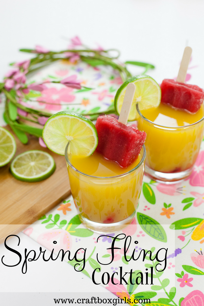 Spring Fling Cocktail