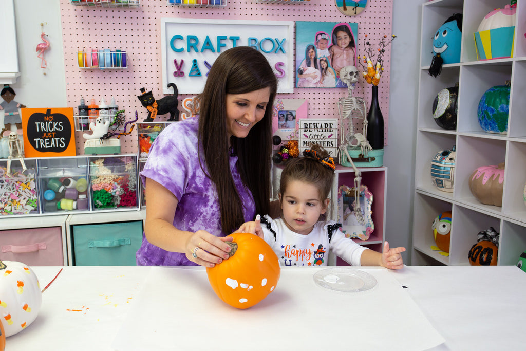 Mommy and Me Halloween Craft