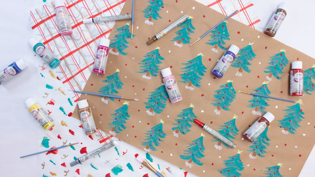 DIY Wrapping Paper