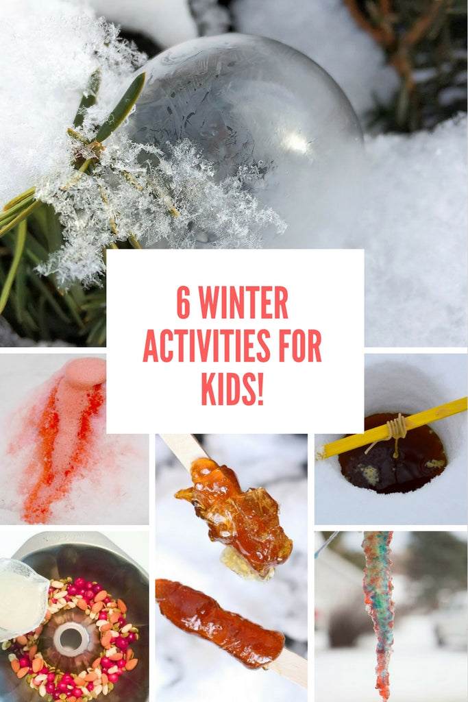 6 Winter Activities for Kids!