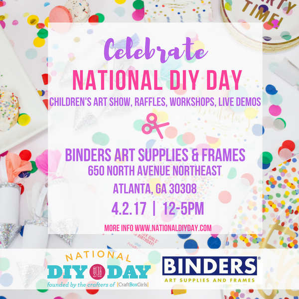 National DIY Day Atlanta