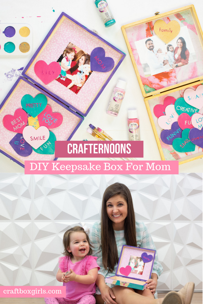 Testors Crafternoons Mother's Day Craft