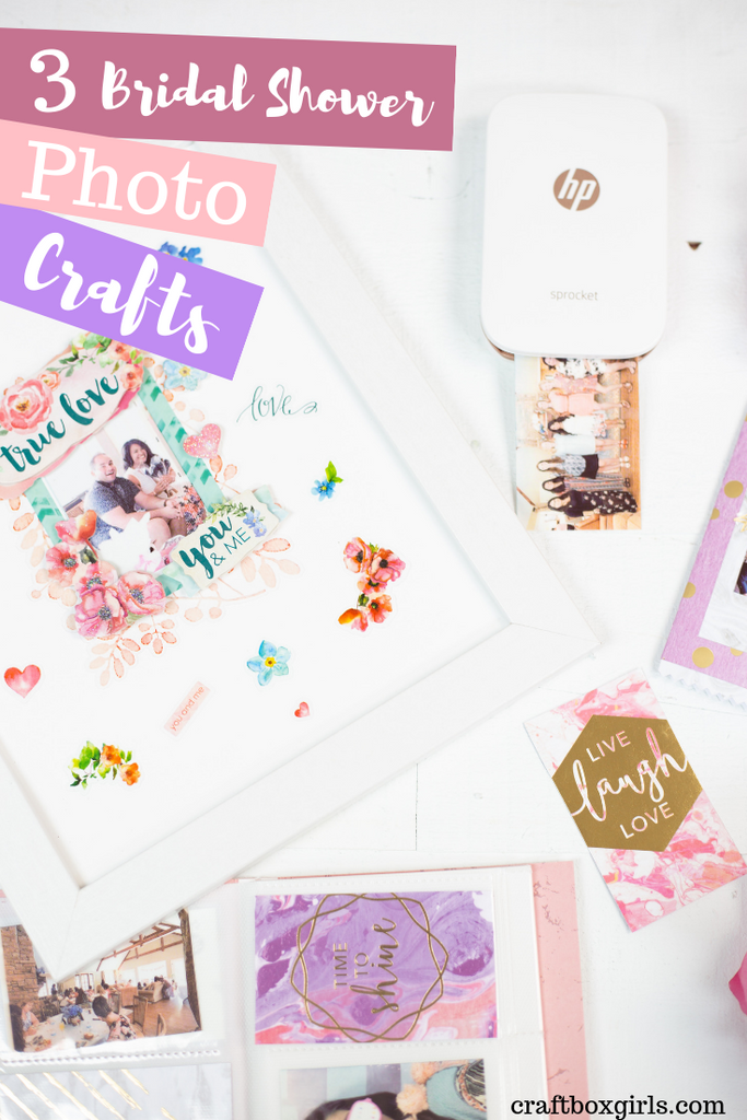 3 DIY Bridal Shower Crafts