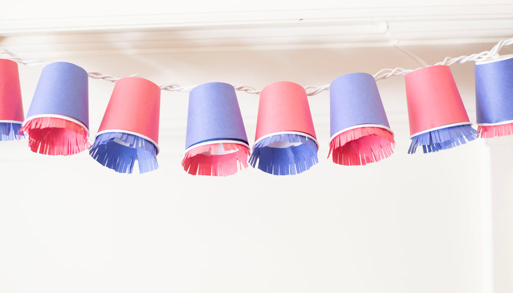 Dixie Cup String Lights