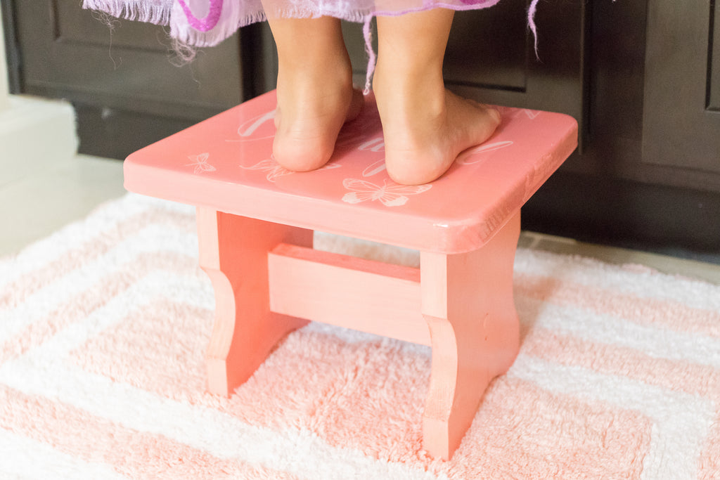 DIY Kids Foot Stool