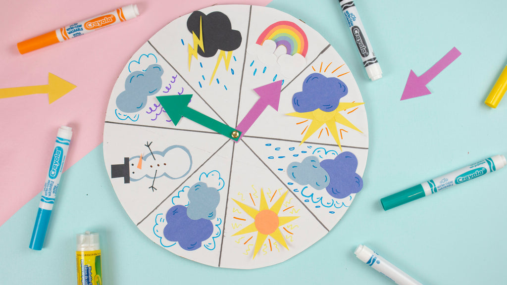 DIY Weather Wheel