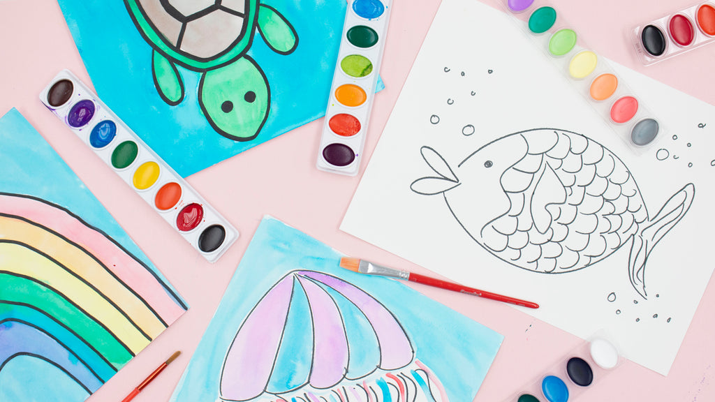 Crayola Watercolor Art for Kids