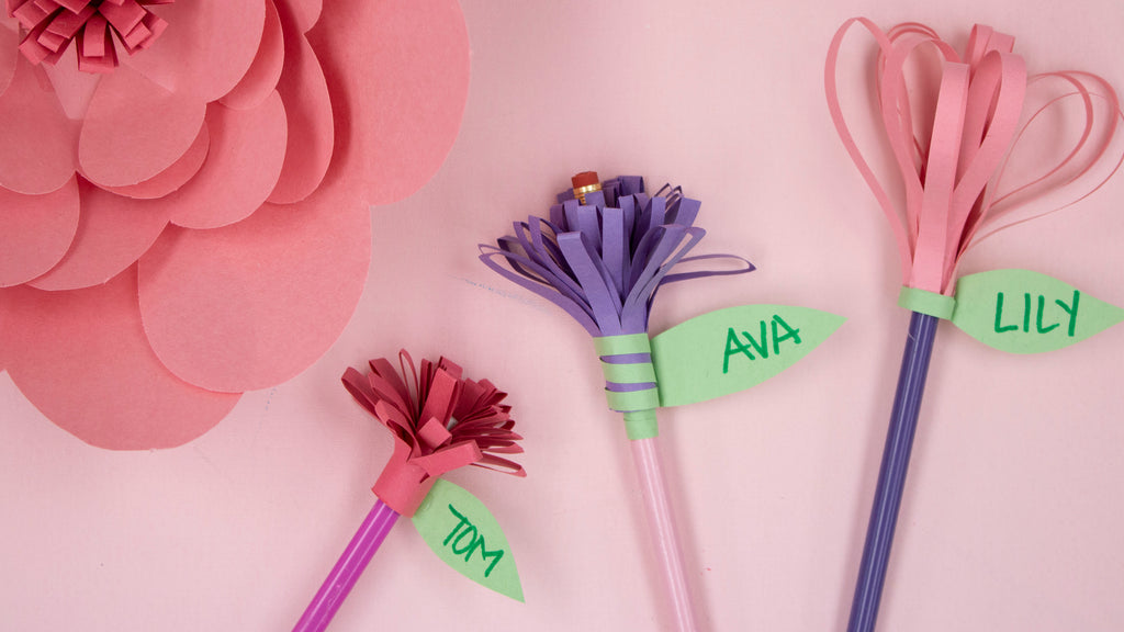 DIY Pencil Toppers for Back to School with Crayola