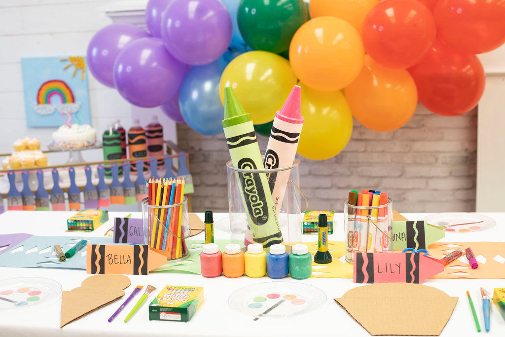 Arts & Crafts Themed Kids Party