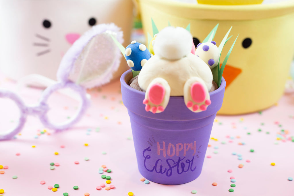 Bunny Butt Pot Craft