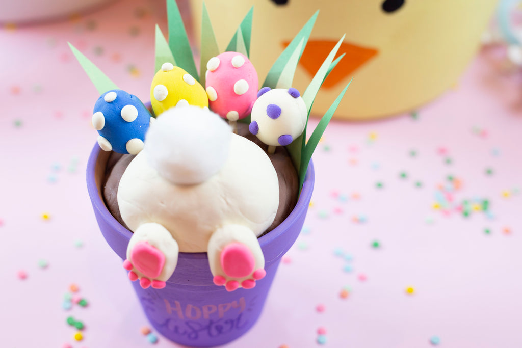 Bunny Bottom Pot Craft
