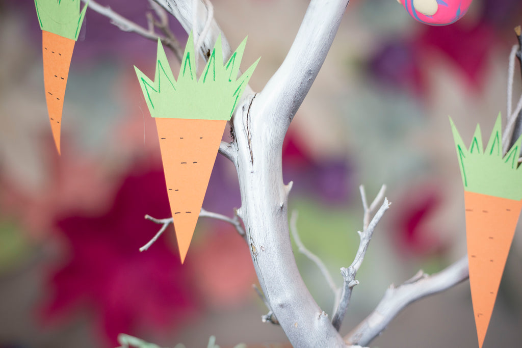 Carrot Easter Tree Ornament