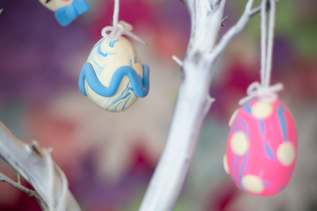 Model Magic Easter Ornament