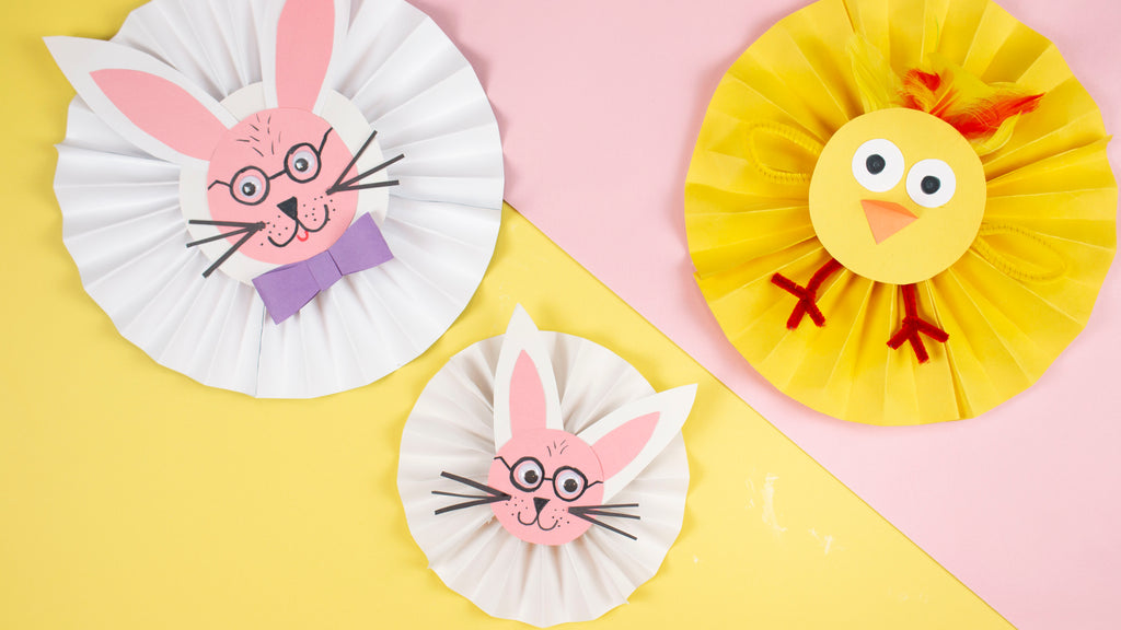 Crayola Easter Pinwheels Craft