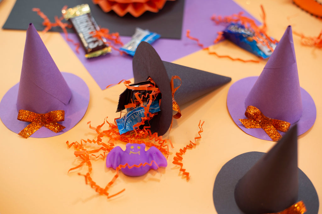 Construction Paper Witches Hat