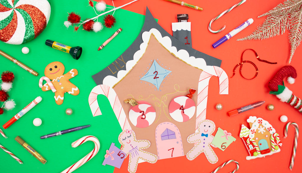Gingerbread House Holiday Countdown