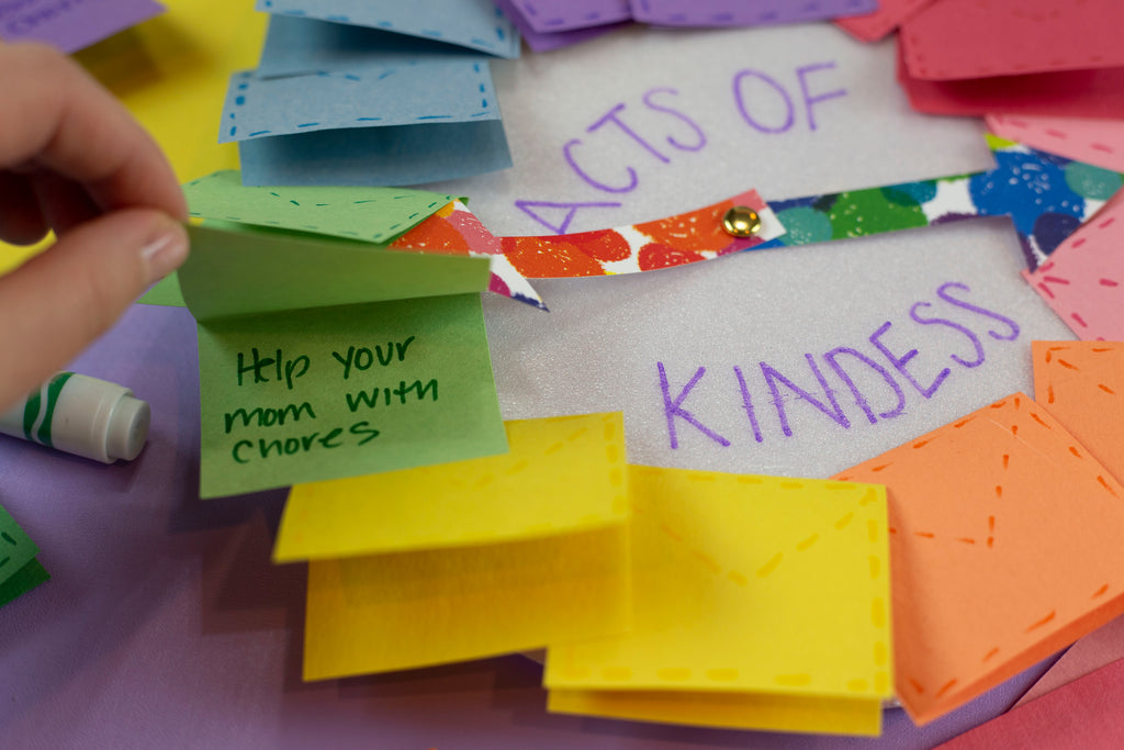 Acts of Kindness Wheel Kids Crafts