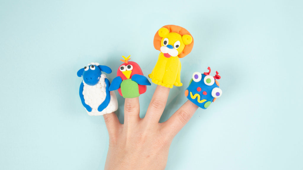Clay Finger Puppets