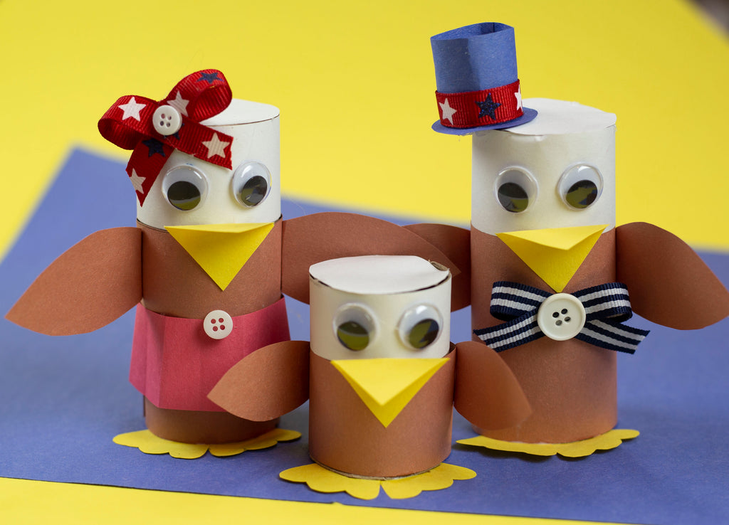 DIY Toilet Paper Roll Eagle