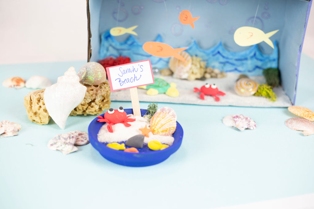 DIY Beach Diorama