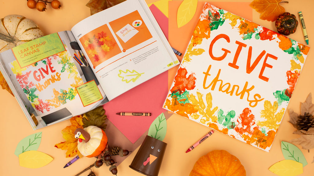 Give Thanks Canvas Kids Tote
