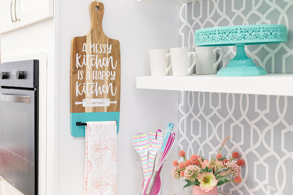 Cricut Thrift Store Upcycle DIY Project