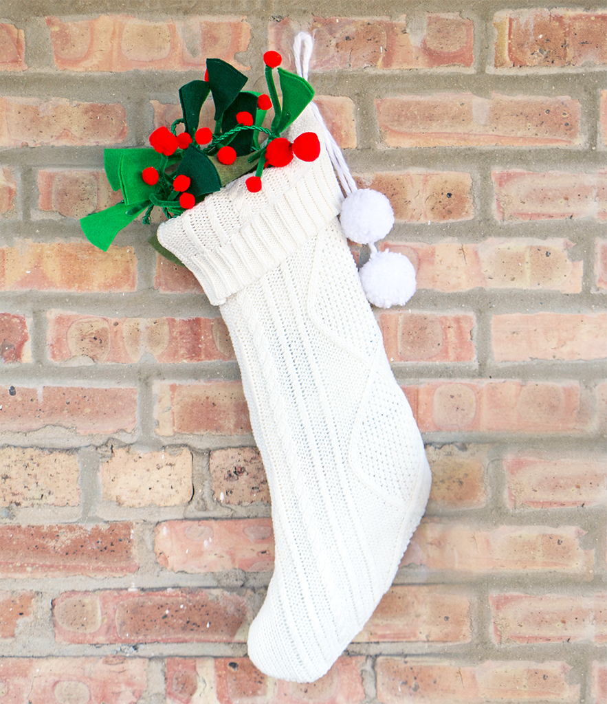 DIY Sweater Stocking