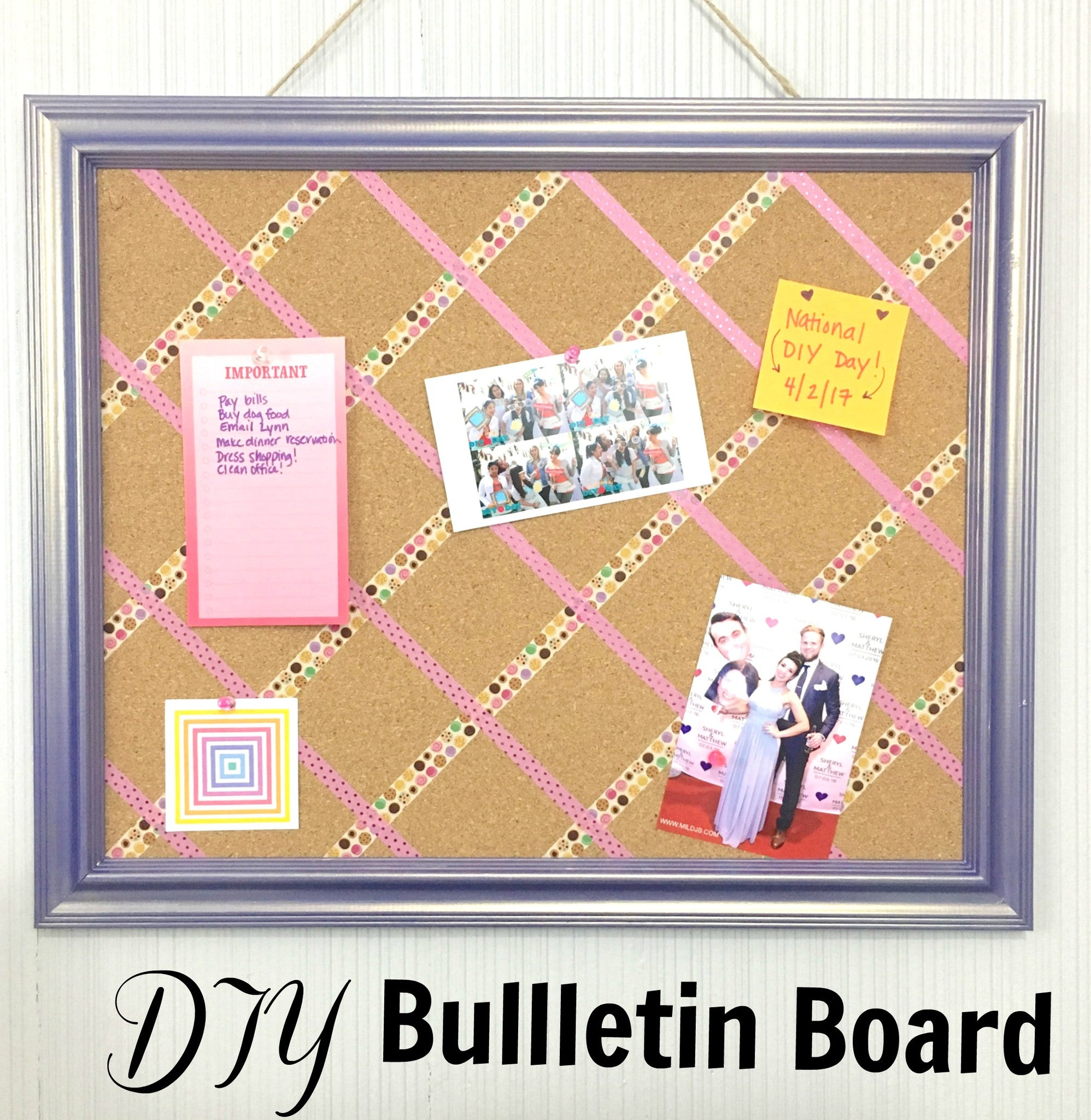 DIY Bulletin Board