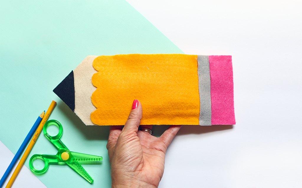 DIY Felt Pencil Pouch