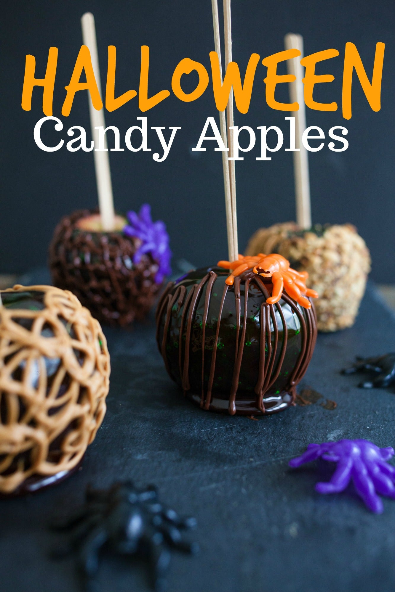 DIY Halloween Candy Apples
