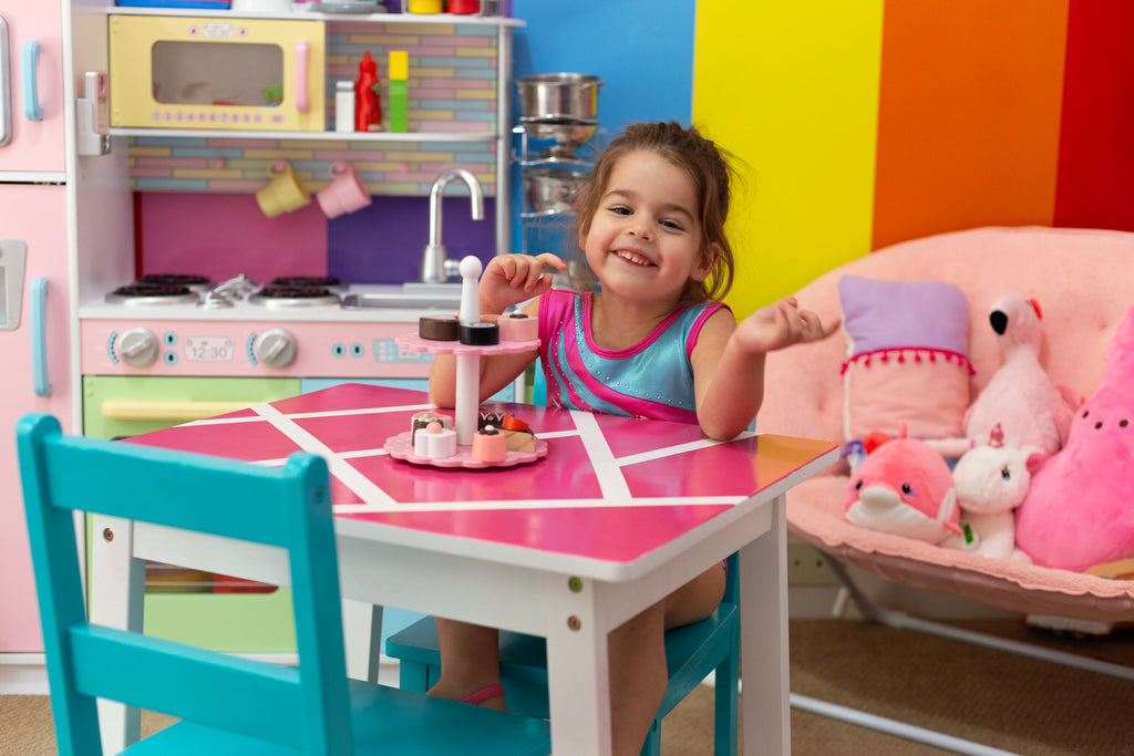 Kids Playroom Table Makeover